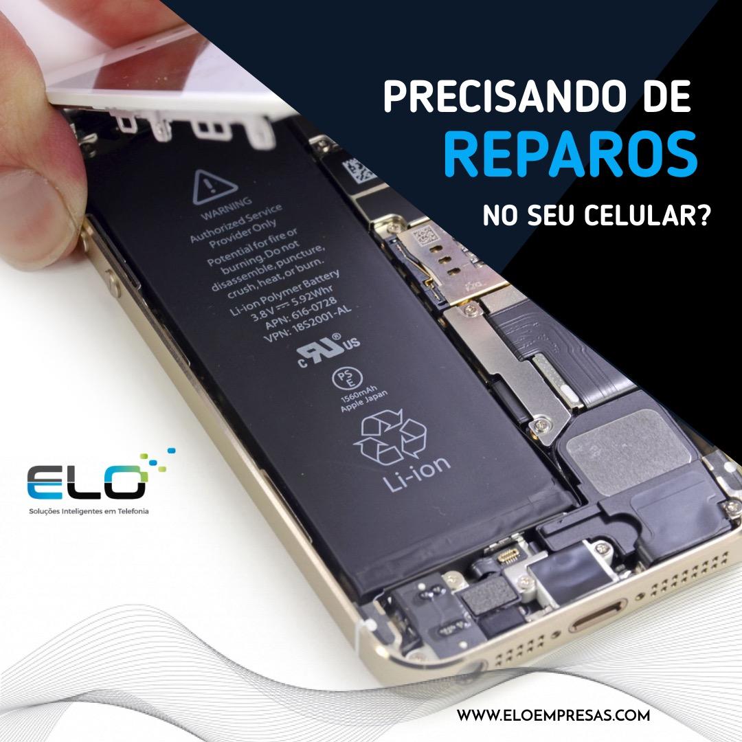 Precisando de reparos no seu celular?